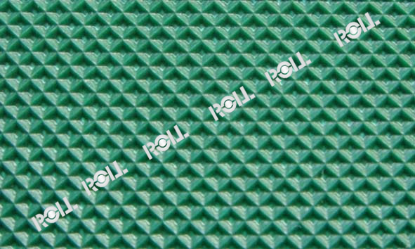 Multi Color Customized 1-11mm Conveyor Belt PATTERNS Several Material