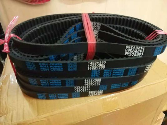 China Highly Durable Variable Speed Belt , Adjustable V Belt Very Smooth Running supplier