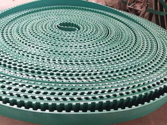 China Customized PU Transmission Belt Open Timing Belts Steel Cord Long Using Life supplier