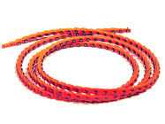 China Red Color AA BB Size Link V Belt Long Using Life With High Performance factory
