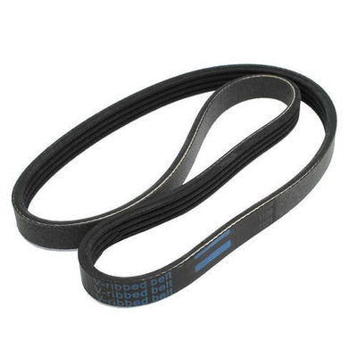 Black Oil Resistant V Ribbed Belt Low Vibration For Machine Conveyor